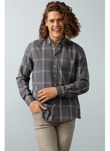 U.S.Polo Assn. Gömlek Gri